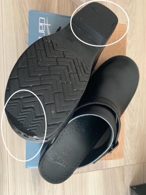 ダンスコ靴底