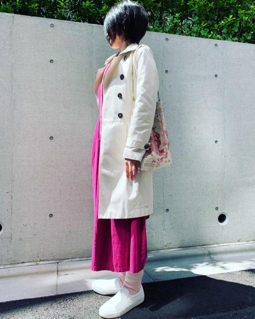 風茜冷えとりファッション