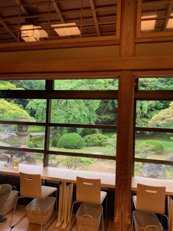 小石川後楽園びいどろ茶寮