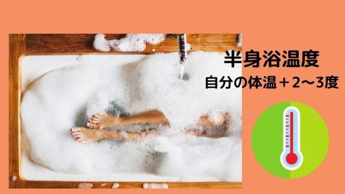 半身浴温度